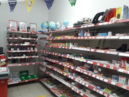 Магазин канцелярских товаров с отличной локацией фото