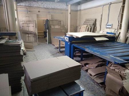 производство изделий из гофра картона фото