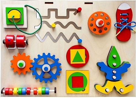 Производство развивающих игрушек, бизибордов фото