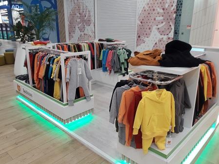 Островок детской одежды в крупном ТЦ по цене активов фото