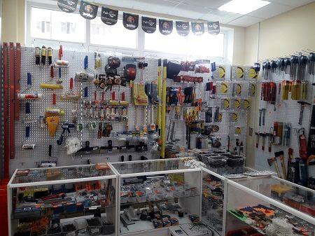 Магазин стройматериалов и инструментов фото